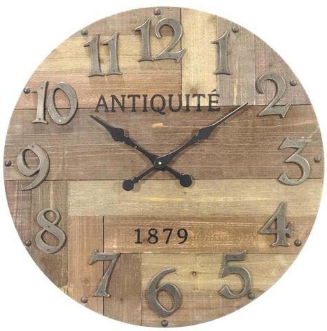 Aubry-Gaspard - Horloge murale-Aubry-Gaspard-Horloge en bois Antiquité