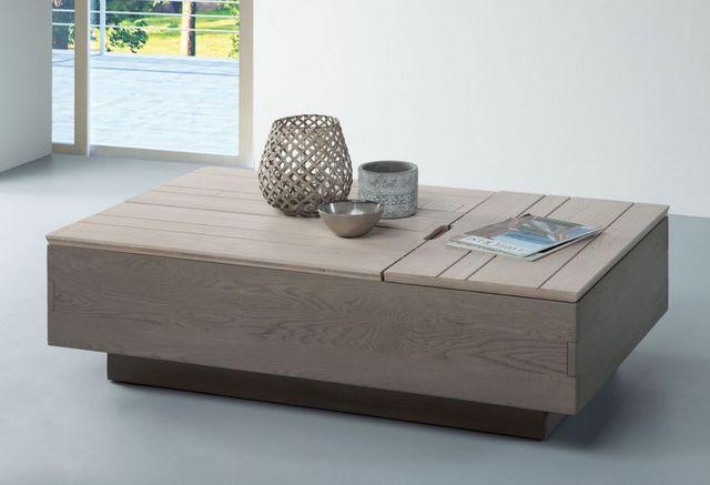 Ateliers De Langres - Table basse rectangulaire-Ateliers De Langres