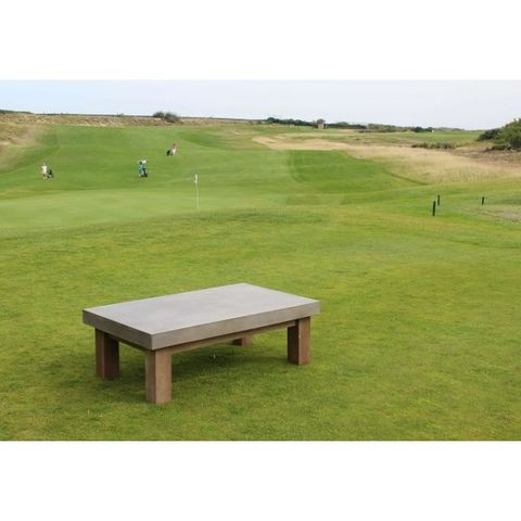Mathi Design - Table basse rectangulaire-Mathi Design-Table basse béton rectangle