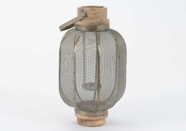 Amadeus - Lanterne d'extérieur-Amadeus-Lanterne métal et bois