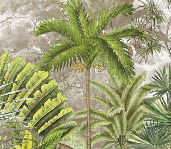 Ananbô - Papier peint panoramique-Ananbô-NICOBAR COULEUR
