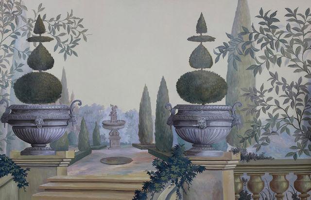 Ananbô - Papier peint-Ananbô-Les Jardins de Montesino couleur