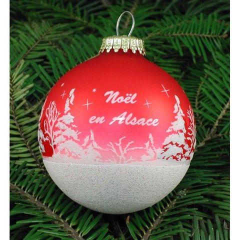 Arts Et Collections d'Alsace - Boule de Noël-Arts Et Collections d'Alsace