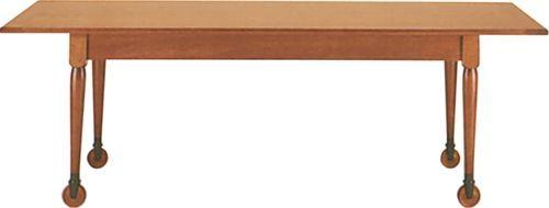Classic Design Italia - Table de repas rectangulaire-Classic Design Italia-table avec/sans roulettes
