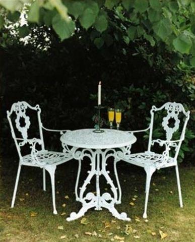 Jardine Leisure - Table de jardin ronde-Jardine Leisure-Georgian