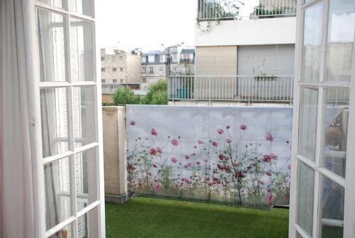 VISUA - Toile décorative d'extérieur-VISUA-BRISE VUE COSMOS