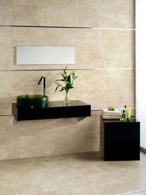 CasaLux Home Design - Carrelage salle de bains-CasaLux Home Design-Gr�s c�rame Deep sable