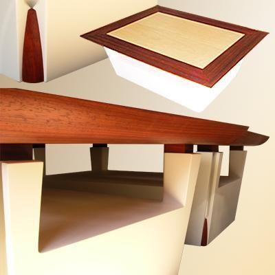 Le Faiseur de Choses - Table basse avec plateau-Le Faiseur de Choses