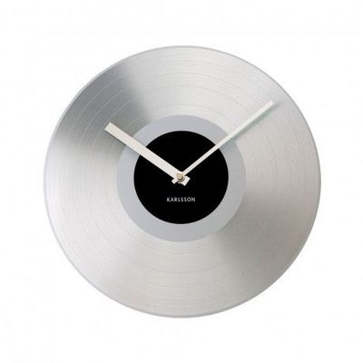 Karlsson Clocks - Horloge murale-Karlsson Clocks-Karlsson - Horloge Record Platinium - Karlsson - N