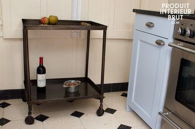 Produit Interieur Brut.com - Desserte-Produit Interieur Brut.com-Desserte en métal sombre
