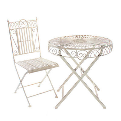 LONDON ORNAMENTS - Guéridon d'extérieur-LONDON ORNAMENTS-Montpelier Bistro Set