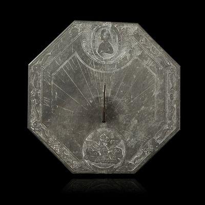 Expertissim - Cadran solaire-Expertissim-Cadran solaire avec buste de Napoléon Ier