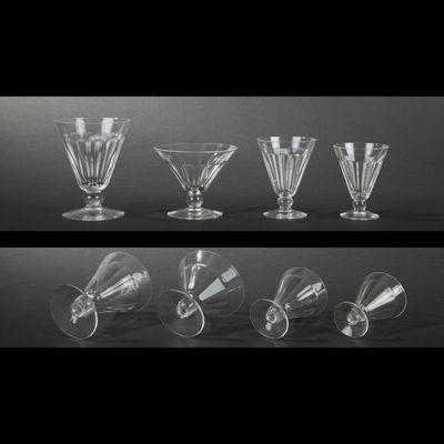 Expertissim - Service de verres-Expertissim-VAL SAINT LAMBERT. Partie de service de verres en