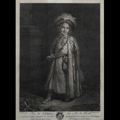 Expertissim - Gravure-Expertissim-Trois gravures en noir du XVIIIe si�cle