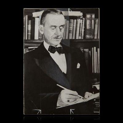 Expertissim - Photographie-Expertissim-MANN Thomas (1875-1955). Photographie de presse