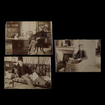 Expertissim - Photographie-Expertissim-HERVIEU Paul (1857-1915). Trois photographies par