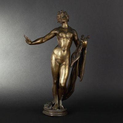 Expertissim - Statuette-Expertissim-Justo de GANDARIAS. Sapho. Statuette en bronze