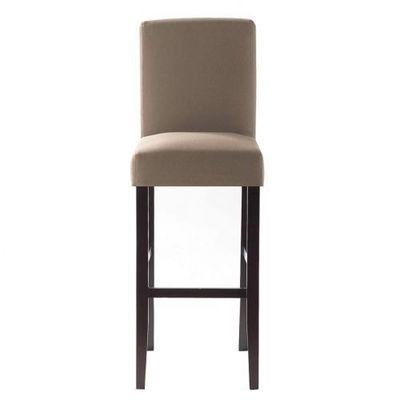 Maisons du monde - Housse de chaise-Maisons du monde-Housse de chaise taupe Boston