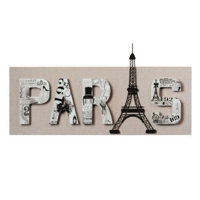 Maisons du monde - Tableau décoratif-Maisons du monde-Toile Paris Haussman