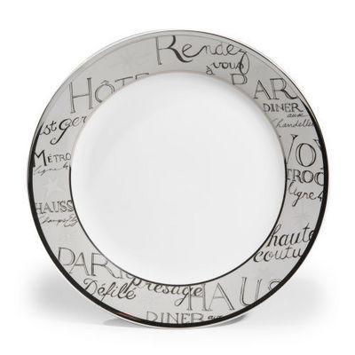 Maisons du monde - Assiette plate-Maisons du monde-Assiette plate Rendez-vous