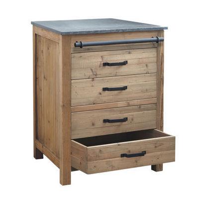 El ment bas 70 cm pagnol meuble de cuisine bas - Meuble de cuisine maison du monde ...