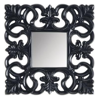 Maisons du monde - Miroir-Maisons du monde-Miroir Rivoli carré noir