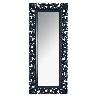 Maisons du monde - Miroir-Maisons du monde-Miroir Rivoli noir 80x190