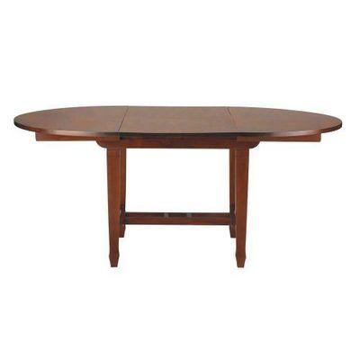 table d ner colonies table de repas ovale maisons du monde. Black Bedroom Furniture Sets. Home Design Ideas