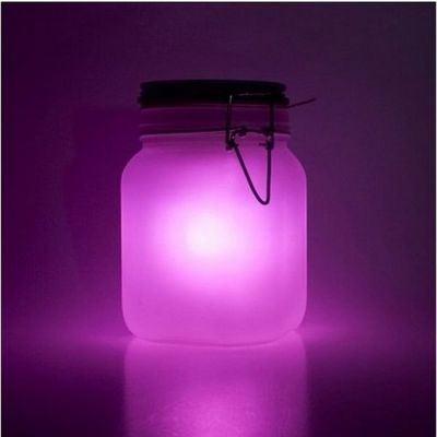 Manta Design - Lampe solaire-Manta Design-Lampe solaire In/Out Sunjar Rose