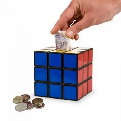 Manta Design - Tirelire-Manta Design-Tirelire design Rubik Cube
