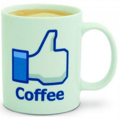 Manta Design - Mug-Manta Design-Mug design I like coffee