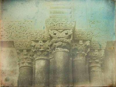 LINEATURE - Photographie-LINEATURE-Porte Eglise du Saint Sépulcre, Jérusalem - 1844