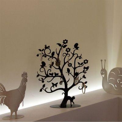Jouvenaud Girouettes & Luminaires - Porte-bijoux-Jouvenaud Girouettes & Luminaires-Arbre à Bijoux - Alice - finition acier