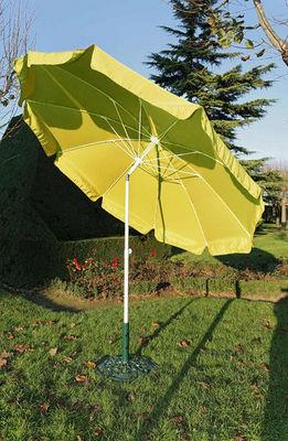 PROLOISIRS - Parasol-PROLOISIRS-Parasol rond 2,70m jaune avec baleines fibre de ve