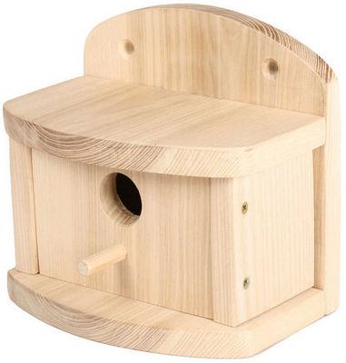 ZOLUX - Maison d'oiseau-ZOLUX-Nichoir en bois pour mésange onlywood 19x12x17,6cm