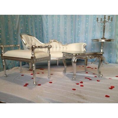 DECO PRIVE - Canapé 2 places-DECO PRIVE-Trone De Mariage Marocain