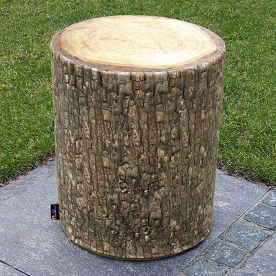 MEROWINGS - Tabouret de jardin-MEROWINGS-Forest Tree Seat Outdoor