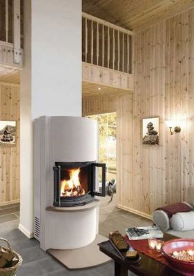 Dovre France - Poêle à bois-Dovre France-Poêle cheminée DOVRE 2000CBBS