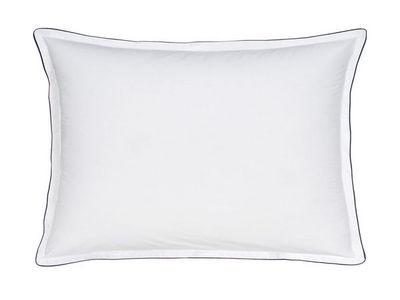 BLANC CERISE - Taie d'oreiller-BLANC CERISE-Taie d'oreiller rectangulaire � volant - percale