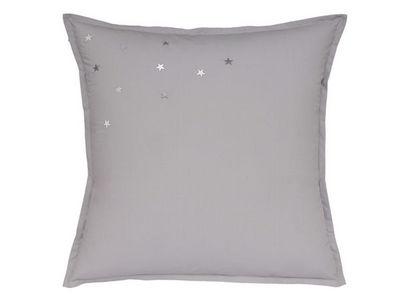 BLANC CERISE - Taie d'oreiller-BLANC CERISE-Taie d'oreiller carr�e - percale (80 fils/cm�) -