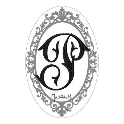 Mathilde M - Savon-Mathilde M-Savon Alphabet Monogramme P
