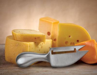 KIKKERLAND. - Couteau à fromage-KIKKERLAND.
