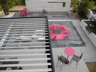Tiki concept - Couverture de piscine d'hiver-Tiki concept-à barres de sécurité