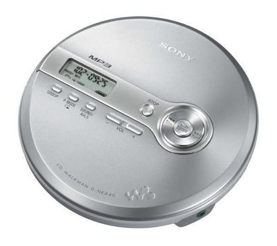 SONY - MP3-SONY-Baladeur CD MP3 Walkman D-NE240