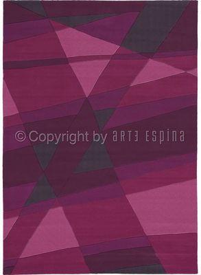 Arte Espina - Tapis contemporain-Arte Espina-Tapis de chambre LUMINOUS 1 violet 120x180 en Acry