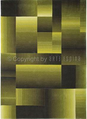 Arte Espina - Tapis contemporain-Arte Espina-Tapis de salon DIGIWORLD vert 170x240 en Acrylique