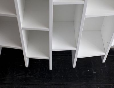 MALHERBE EDITION - Bibliothèque modulable-MALHERBE EDITION-Bibliothèque Concave horizontale
