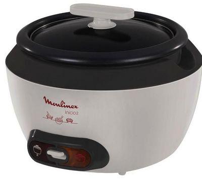 Moulinex - Autocuiseur-Moulinex-Cuiseur  riz Inicio 2 8 Cups MK 151100 - blanc