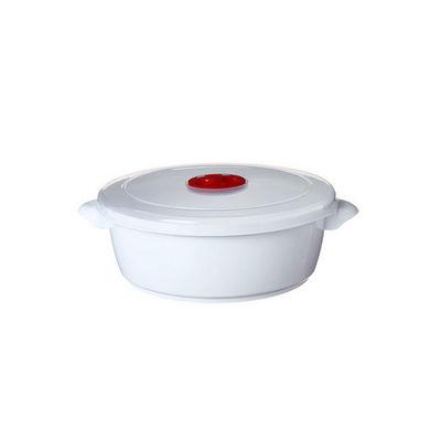WHITE LABEL - Cocotte-WHITE LABEL-Cocotte sp�ciale micro-ondes avec soupapes vapeur