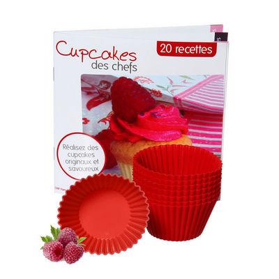 saveur & d�gustation - Moule � muffins-saveur & d�gustation-Saveur & D�gustation - Coffret cupcakes avec 8 mou
